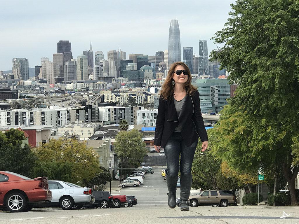Ladeiras do Potrero Hill em San Francisco