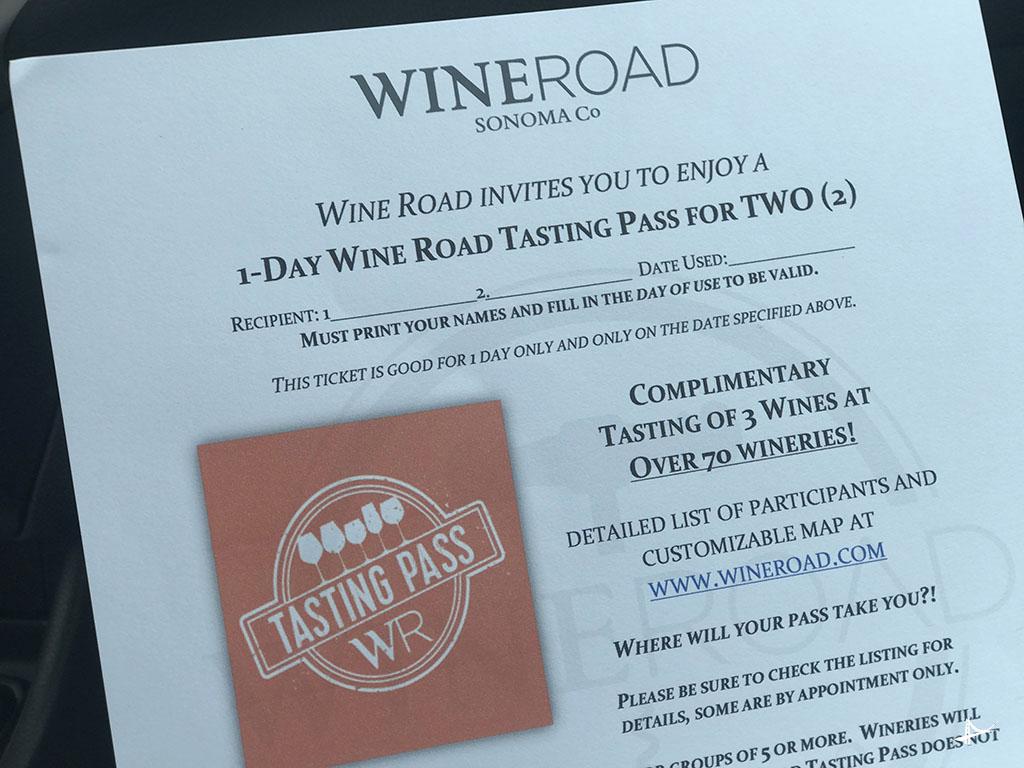 Wine Road em Sonoma