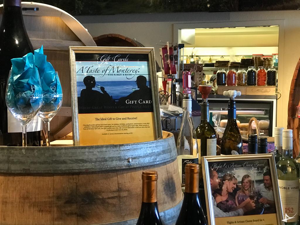 Loja de vinhos em Monterey
