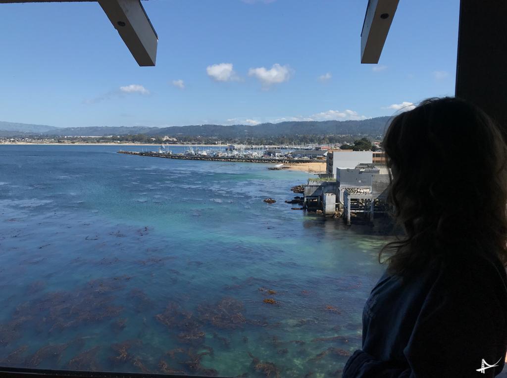 Monterey Plaza Hotel - quartos com vista pro mar