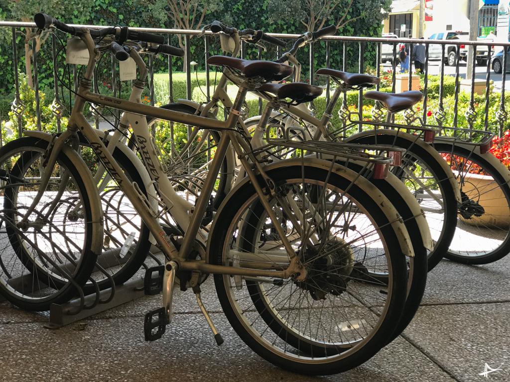 Bicicletas em Monterey