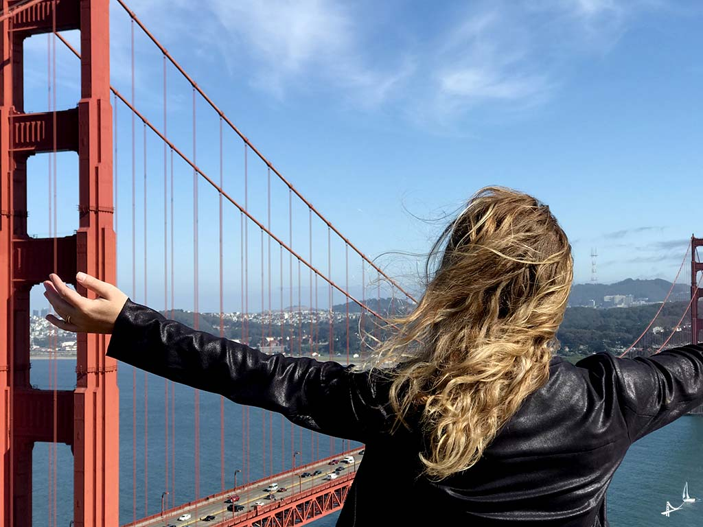 Vistas da Golden Gate Bridge