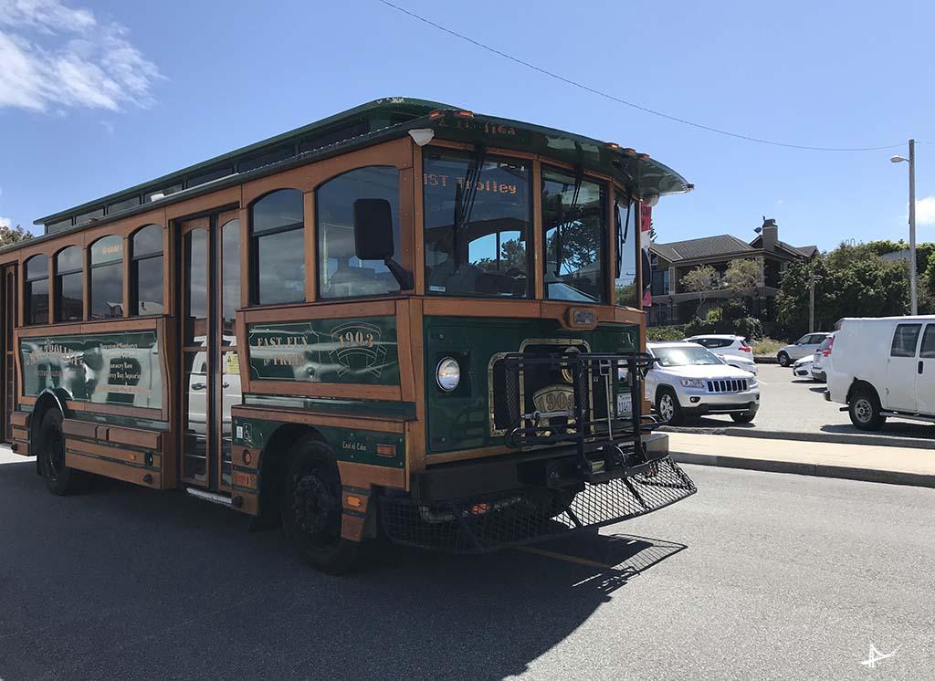 Trolley em Monterey