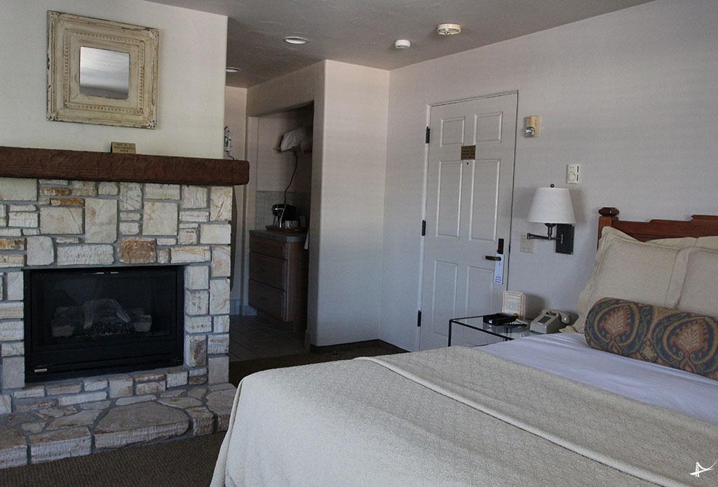 Quarto do hotel em Carmel