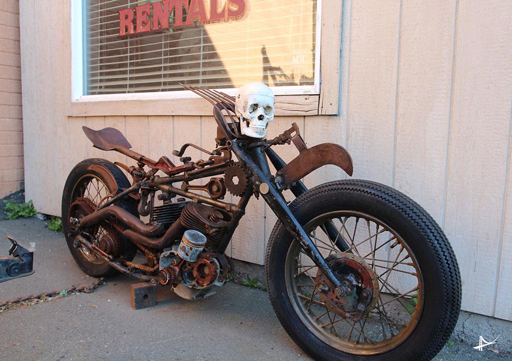 Harley em Napa