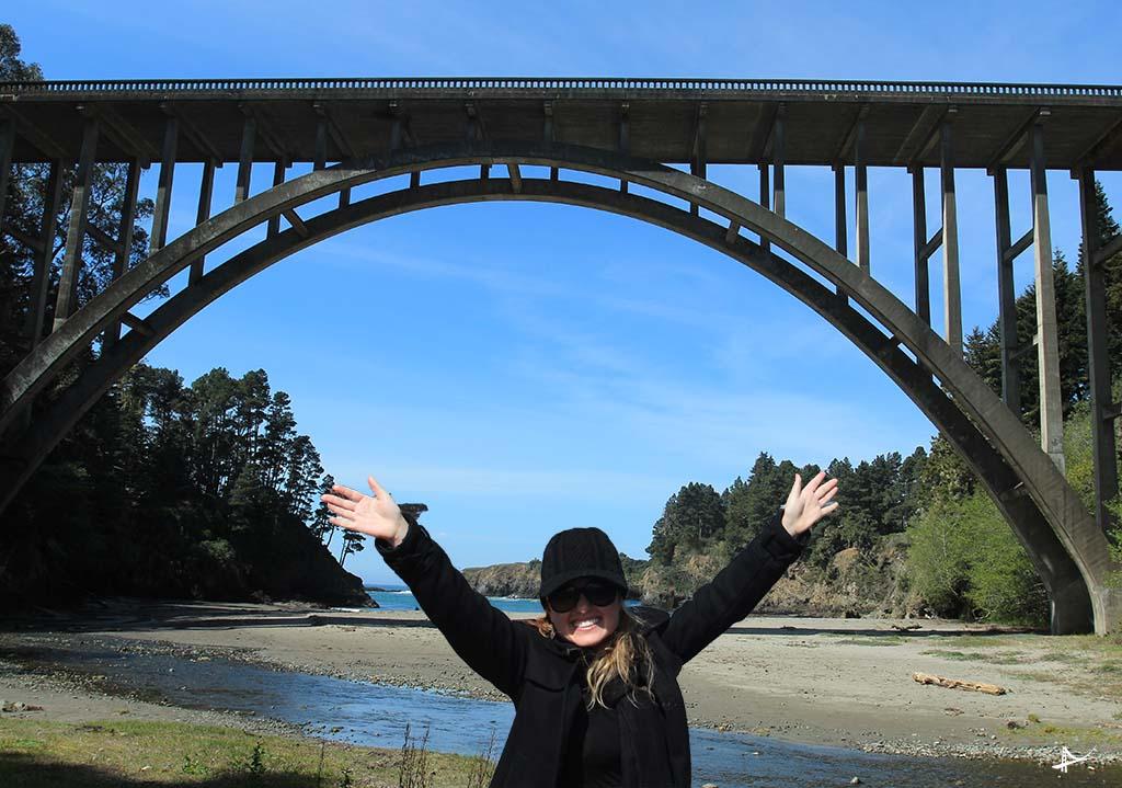 Russian Gulch State Park - Frederick Panhorst Bridge