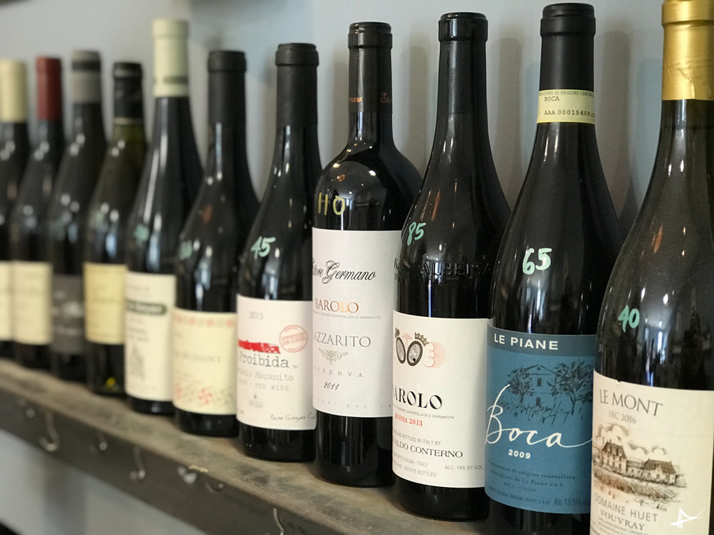 Loja de vinhos em Berkeley