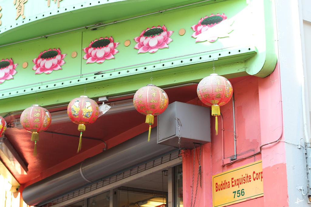Templos no Chinatown