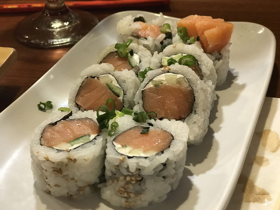 Sushi no Cafe del Soul do Montbleu em South Tahoe