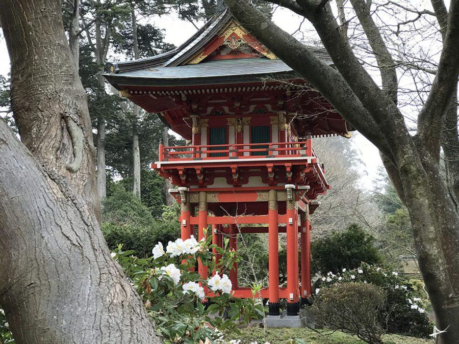 Japonese Tea Garden no Golden Gate Park