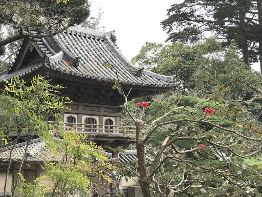 Main Gate no Japonese Tea Garden em San Francisco