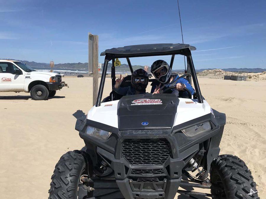 Passeio de buggie nas dunas da Califórnia